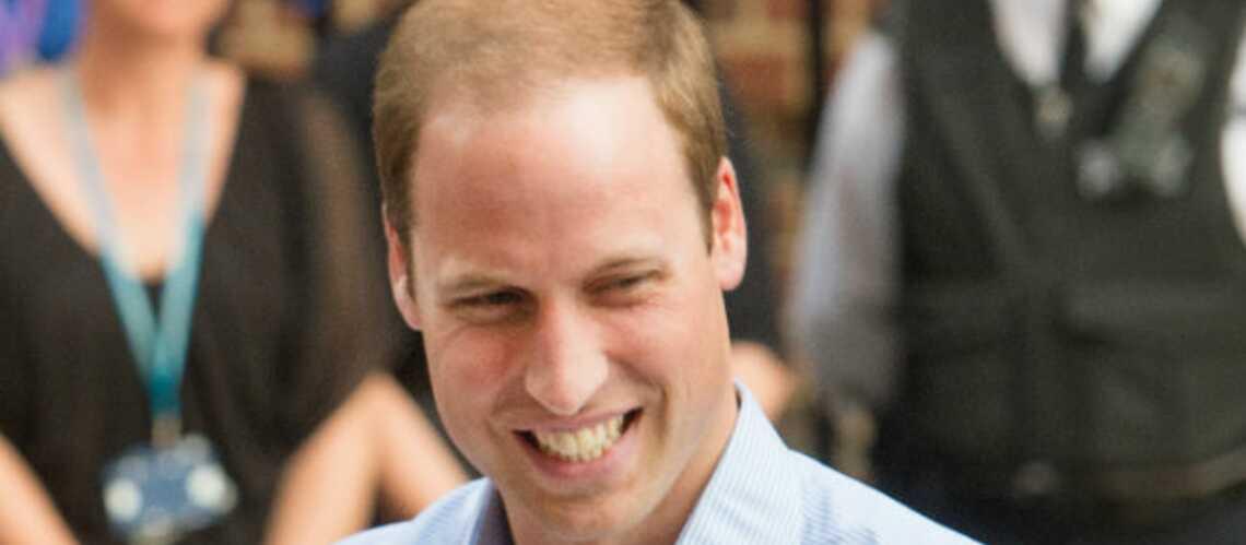 William déclare la naissance de George en solo