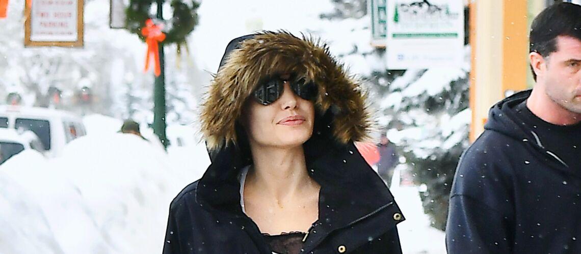On veut les bottes de ski glamour d'Angelina Jolie