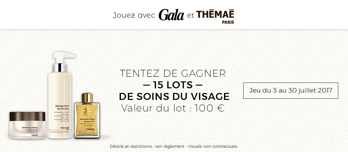 Jeu concours – Tentez de gagner votre lot de soins du visage Thémaé!