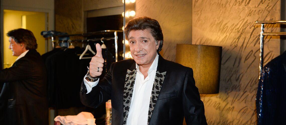 Le chanteur Frédéric François hospitalisé après une mauvaise chute