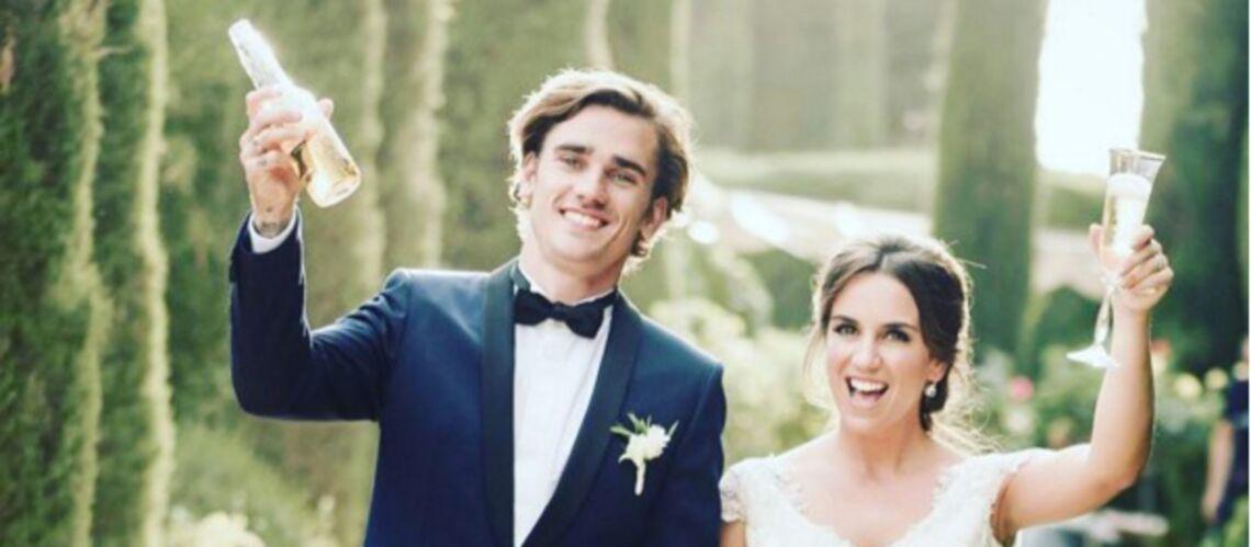 PHOTOS – De retour de leur lune de miel, Antoine Griezmann et Erika Choperena retrouvent leur fille Mia