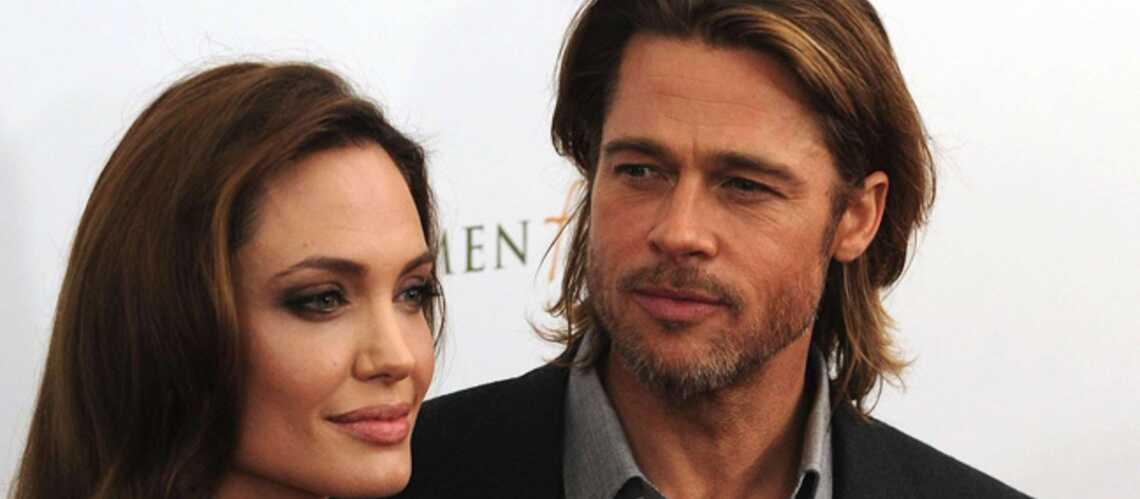 Brad Pitt et Angelina Jolie, experts de la vieille pierre