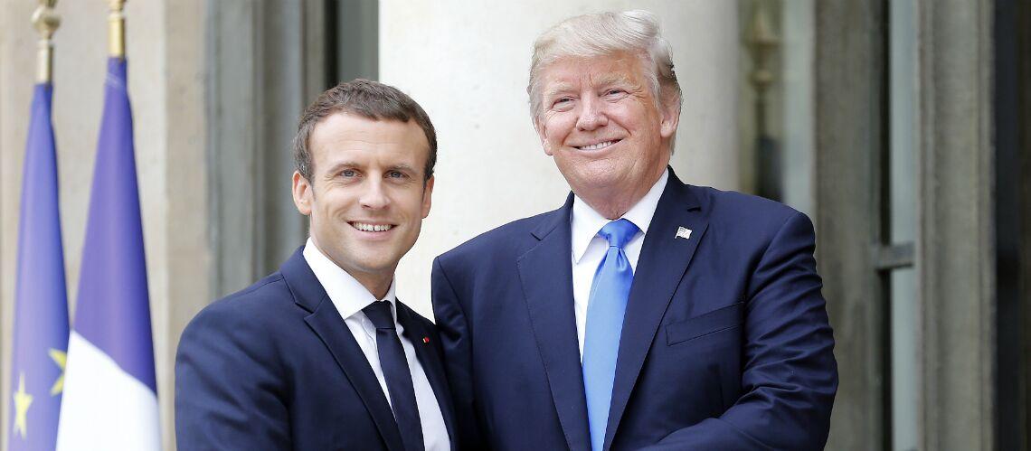 «Je vous aime»: Emmanuel Macron a conquis Donald Trump