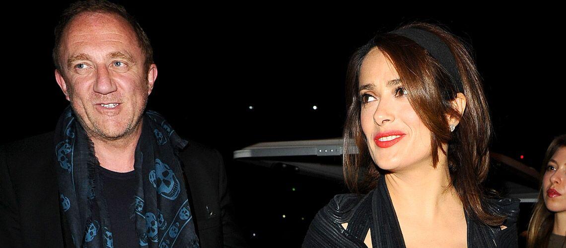 Salma Hayek et François-Henri Pinault, couple branché au concert de Beyoncé et Jay Z