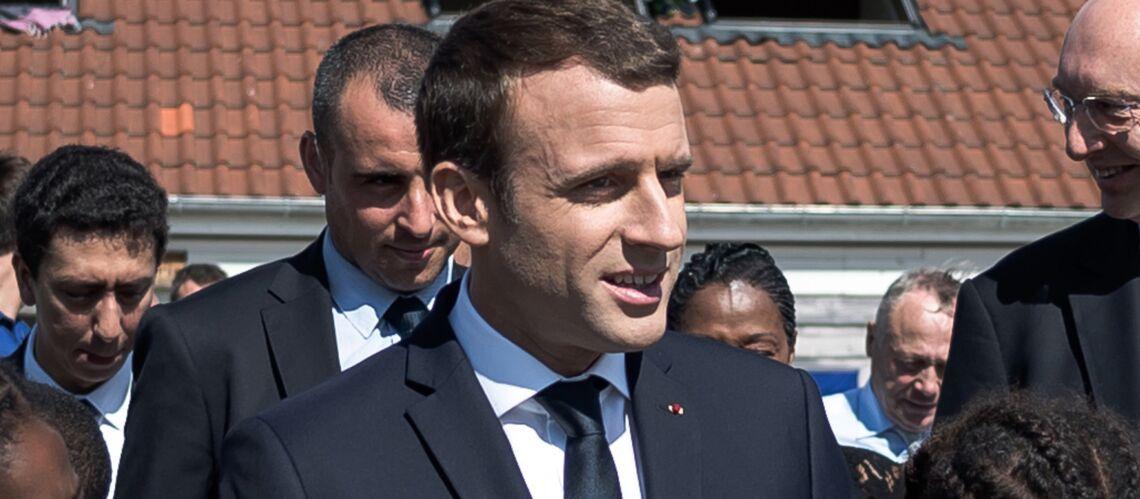 Emmanuel Macron pas assez payé, il fait une drôle de réflexion devant des enfants