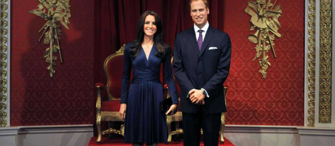 Kate et William, amou­reux immo­biles