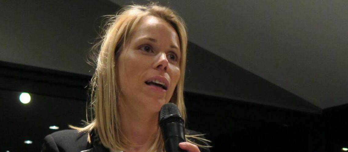 Tiphaine Auzière, la belle-fille d'Emmanuel Macron, s'engage pour son beau-père