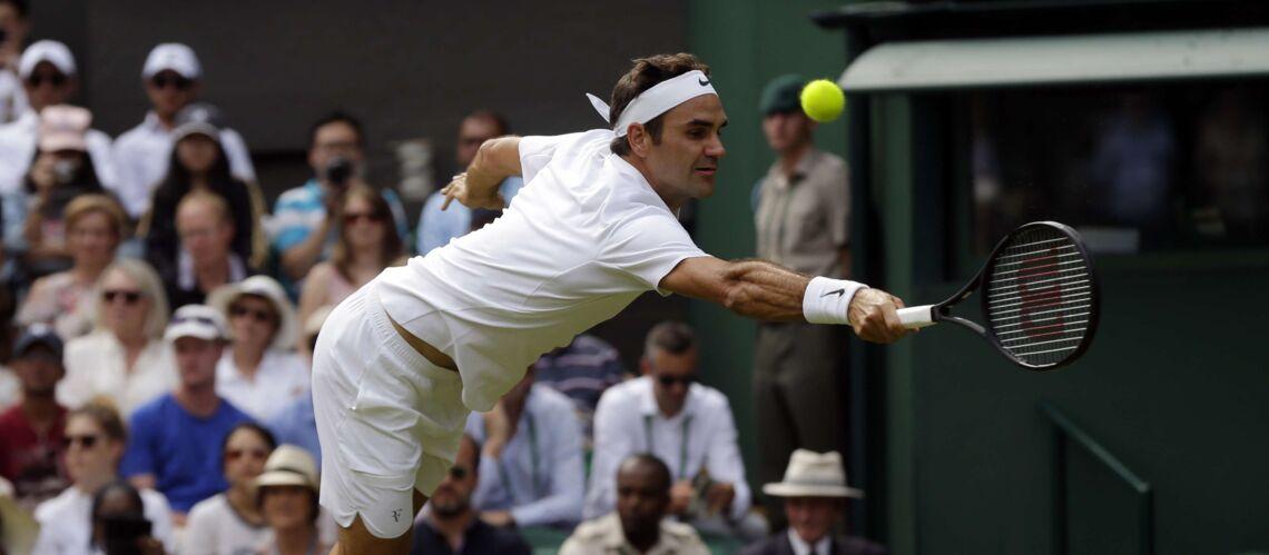 PHOTOS – Craquants les jumeaux de Roger Federer aux premières loges pour leur héros vainqueur à Wimbledon