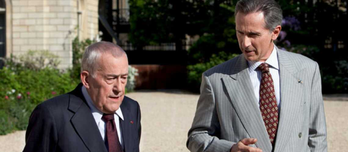 Thierry Lhermitte et Michel Duchaussoy exhument le duel Chirac/Mitterrand