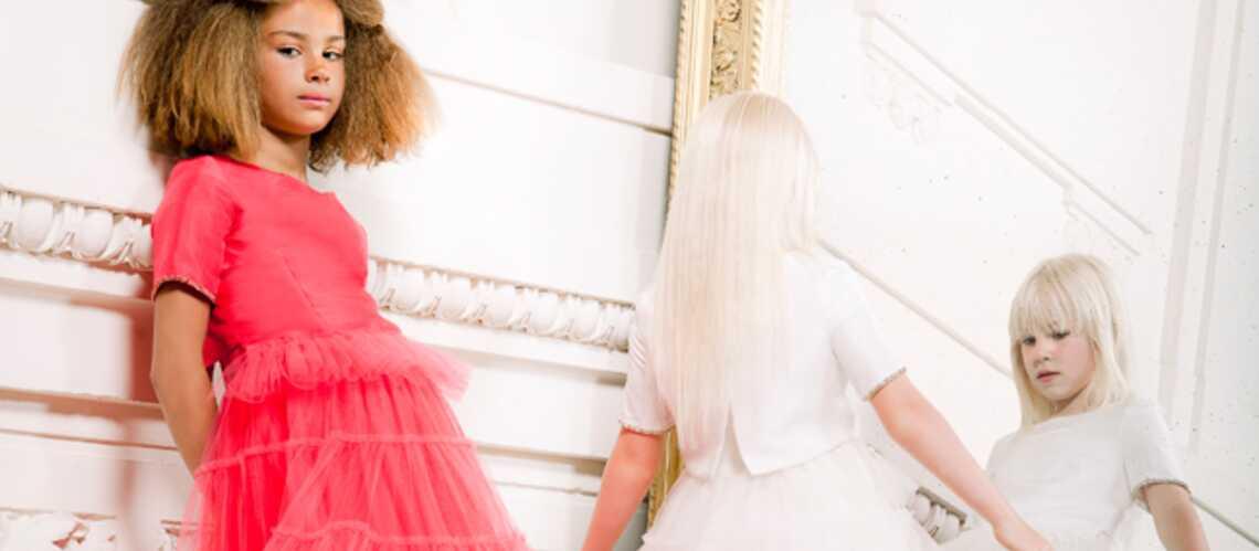 Jean Paul Gaultier: ses robes de princesse pour petites filles
