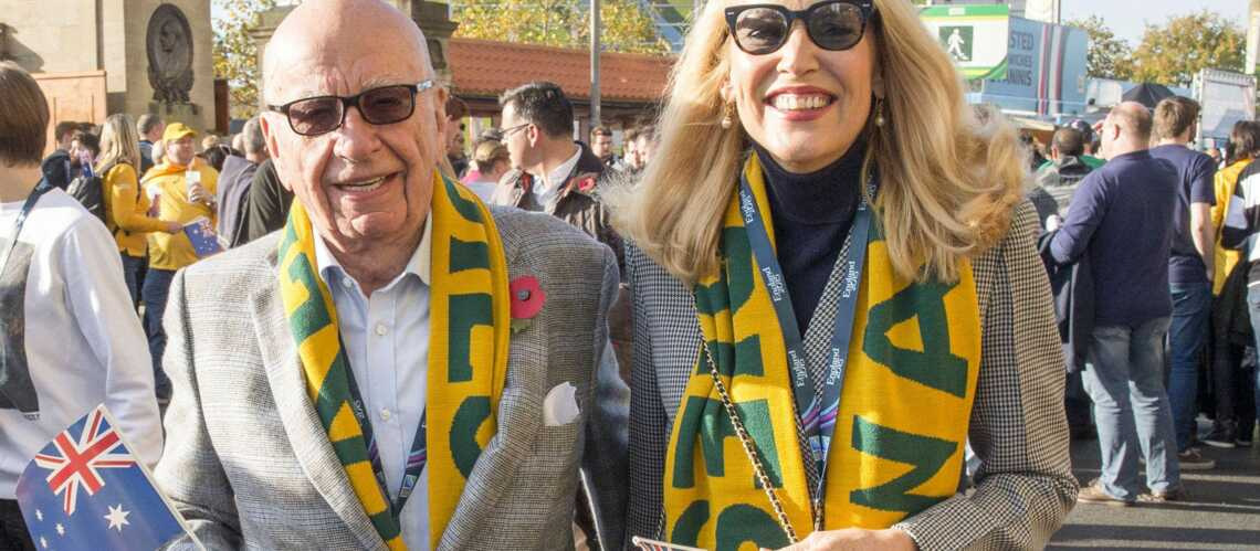 Rupert Murdoch et Jerry Hall ne se quittent plus!