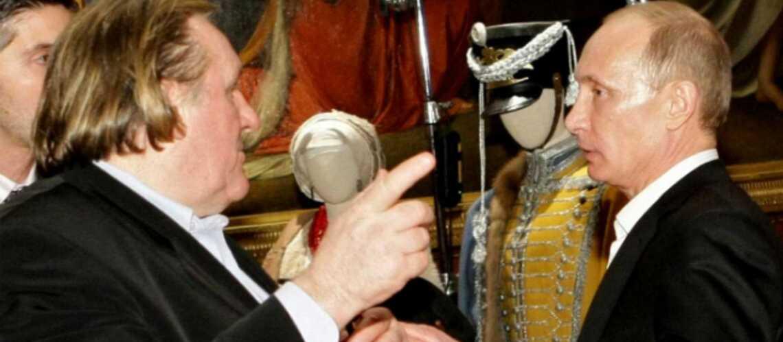 Gérard Depardieu est arrivé en Russie