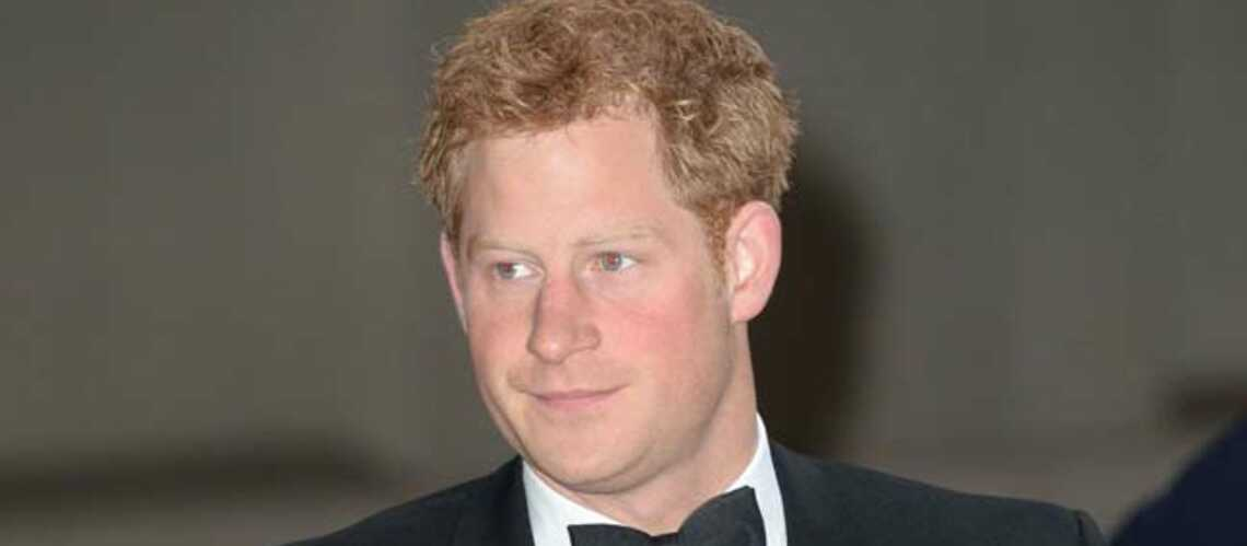 Pas de shampooing pour le Prince Harry