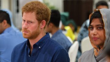Le prince Harry, en visite au sein d'une communauté musulmane, a rendu hommage aux victimes de l'attaque du pont de Londres