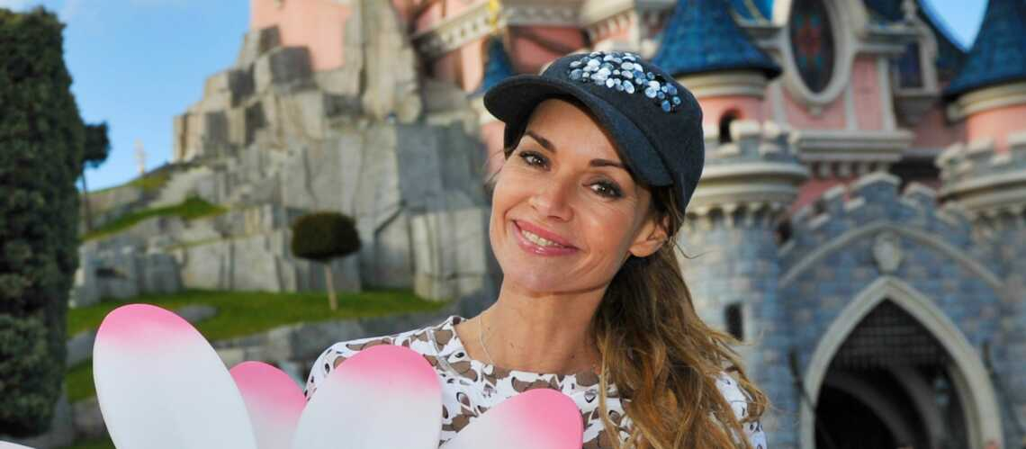 Ingrid Chauvin fête le printemps à Disneyland Paris