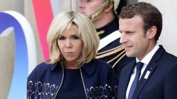 PHOTO – Brigitte Macron, sa tenue chic et décontractée pour accompagner Emmanuel Macron à la Transat Jacques-Vabre au Havre