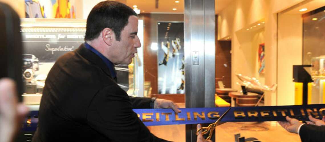 Gala By Night: John Travolta se change les idées chez Breitling