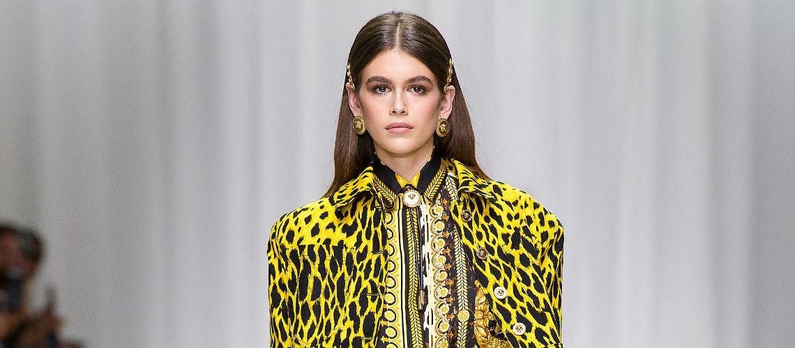 PHOTOS – Kaia Gerber, la fille de Cindy Crawford, superstar de la fashion week printemps-été 2018