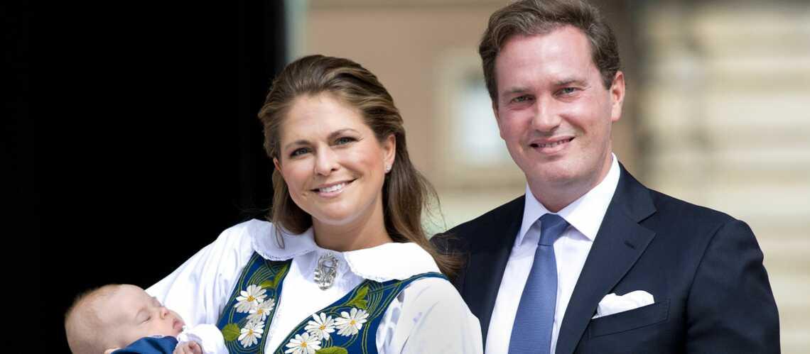 Princesse Madeleine et Leonore aux couleurs de la Suède