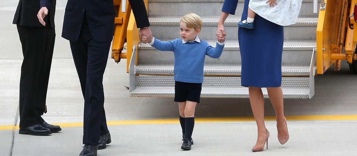 PHOTOS – Prince George: pourquoi le fils de Kate Middleton et du Prince William ne porte que des shorts