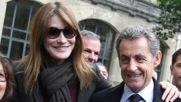 Lettres d'amour et bouquets de fleurs: Carla Bruni gâtée par son «mec» Nicolas Sarkozy
