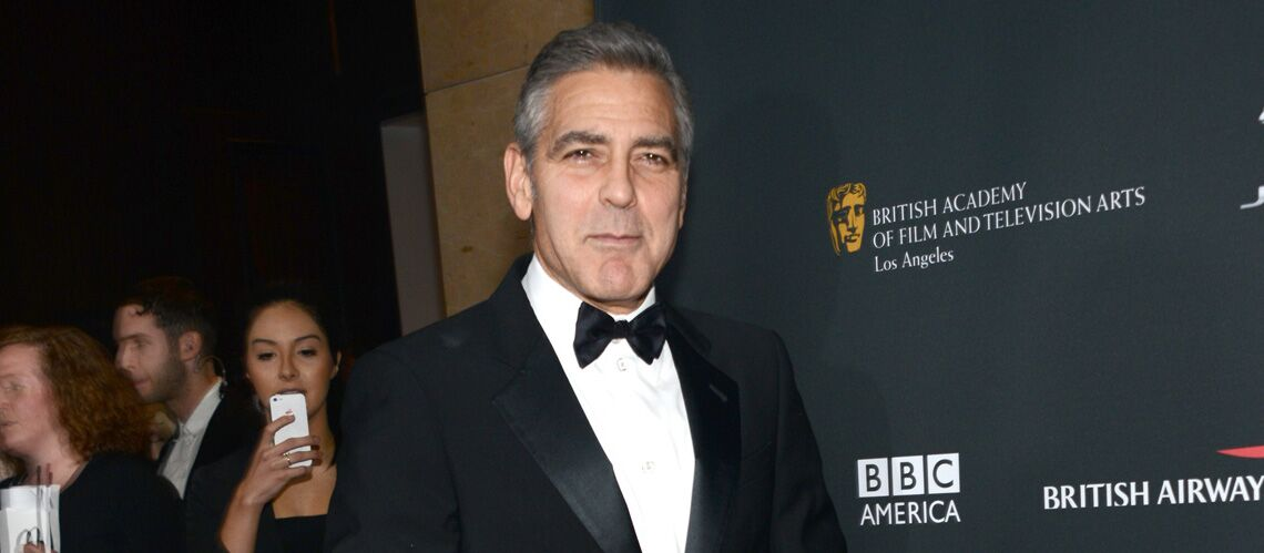 George Clooney, de la chemise hippy au costard Armani