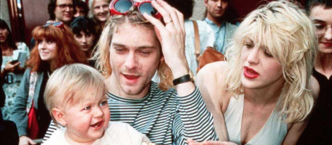 Kurt Cobain, Courtney Love et Frances Bean: un bonheur fragile