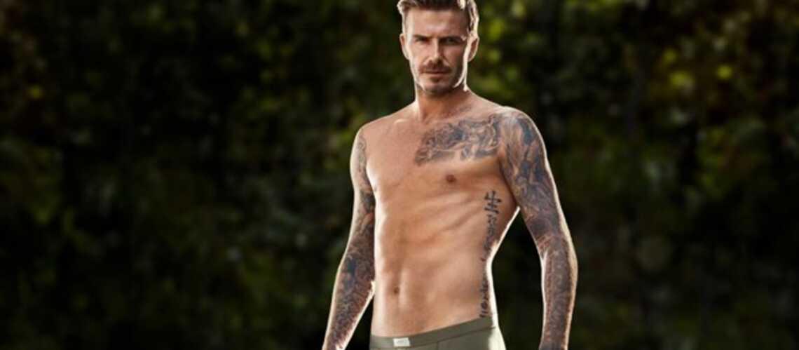 David Beckham, faux cul?
