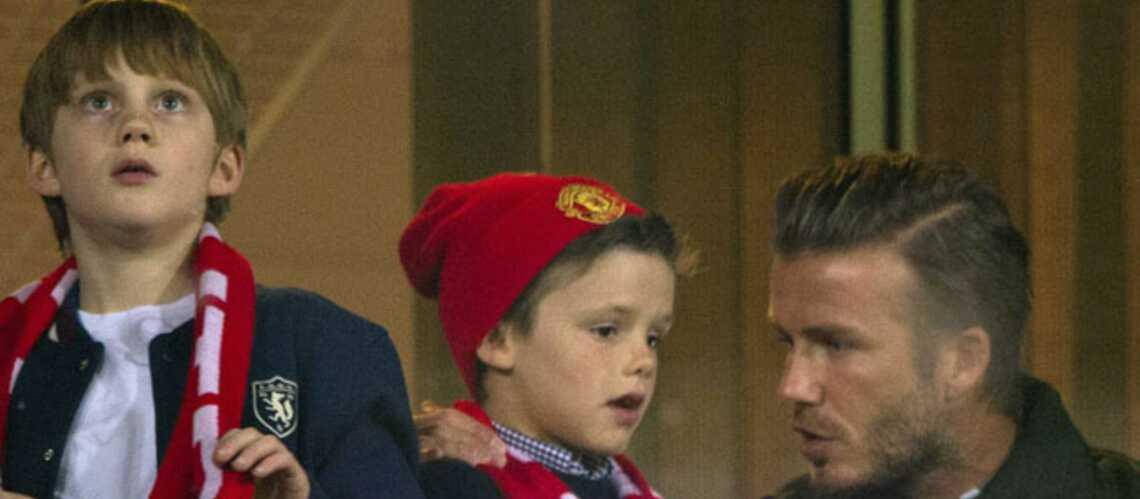 David Beckham: virée foot avec ses fils à Londres