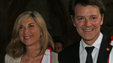 PHOTOS – François Baroin et sa compagne Michèle Laroque: leur été sur les routes du Tour de France