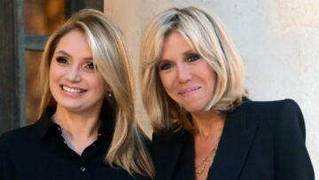 PHOTOS – Brigitte Macron et la première dame mexicaine, Angelica Rivera, rivalisent de blondeur et de chic