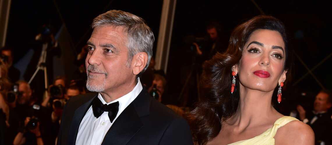 George et Amal Clooney reçoivent Barack Obama: ont-ils parlé de la naissance des jumeaux?