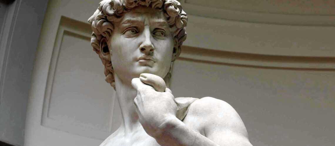 Le David de Michel-Ange reste de marbre