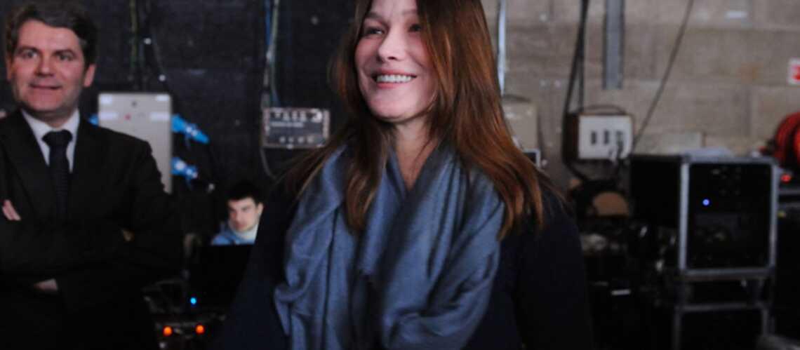 Carla Bruni-Sarkozy: de l'importance d'être modeste