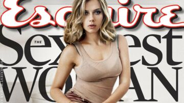 Scarlett Johansson élue femme la plus sexy