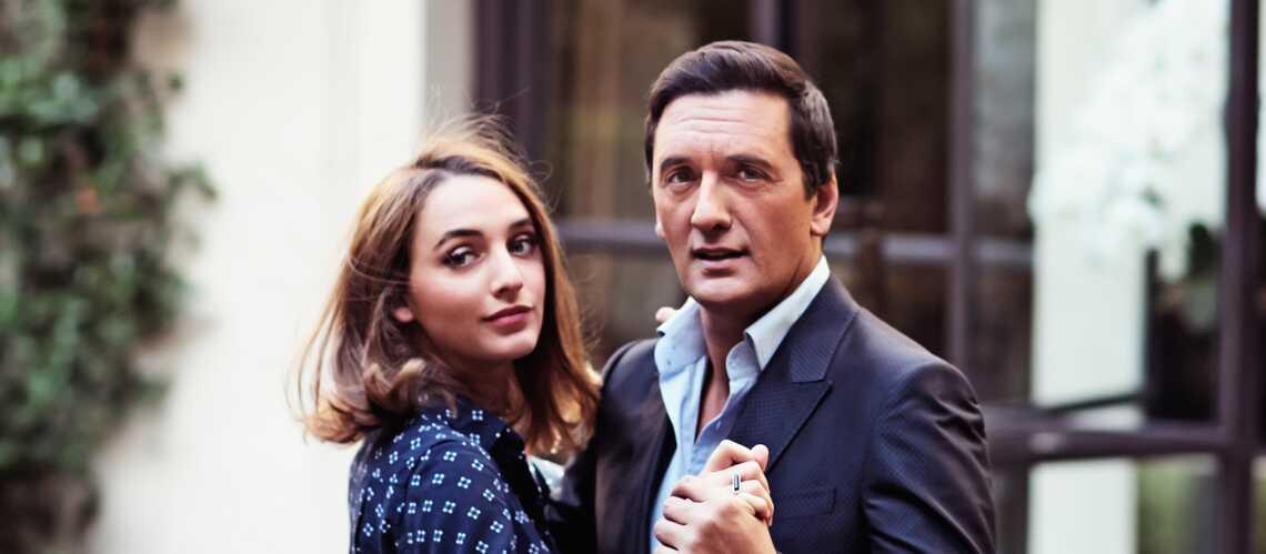 Dany Brillant et Léah, romantiques de père en fille: il fête ses 51 ans
