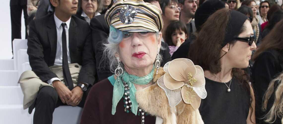 Anna Piaggi: disparition d'une modeuse emblématique