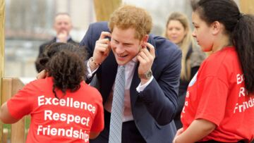 Le prince Harry, ce grand gamin
