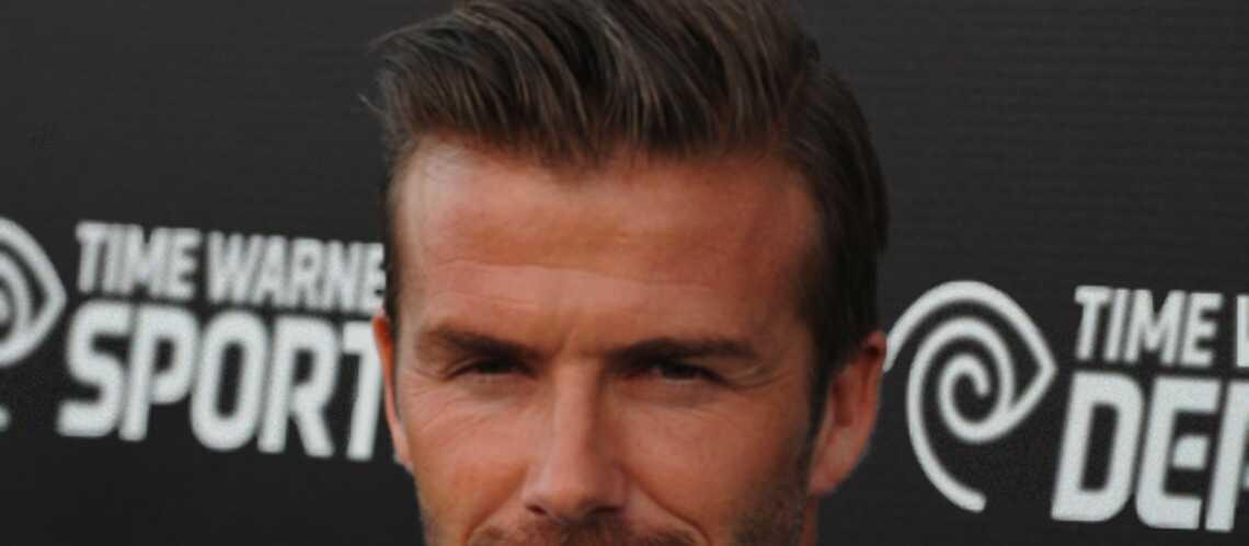 David Beckham: des cheveux nommés désir
