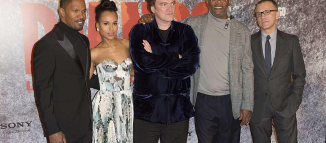 Photos- Quentin Tarantino déchainé à Paris