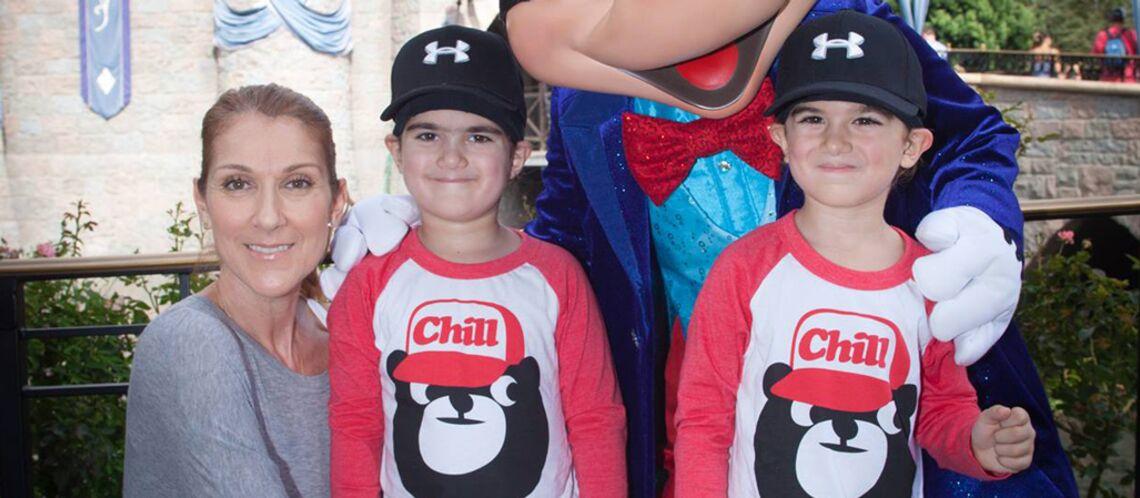 Depuis la mort de René Angélil, Céline Dion dort avec ses jumeaux de 6 ans