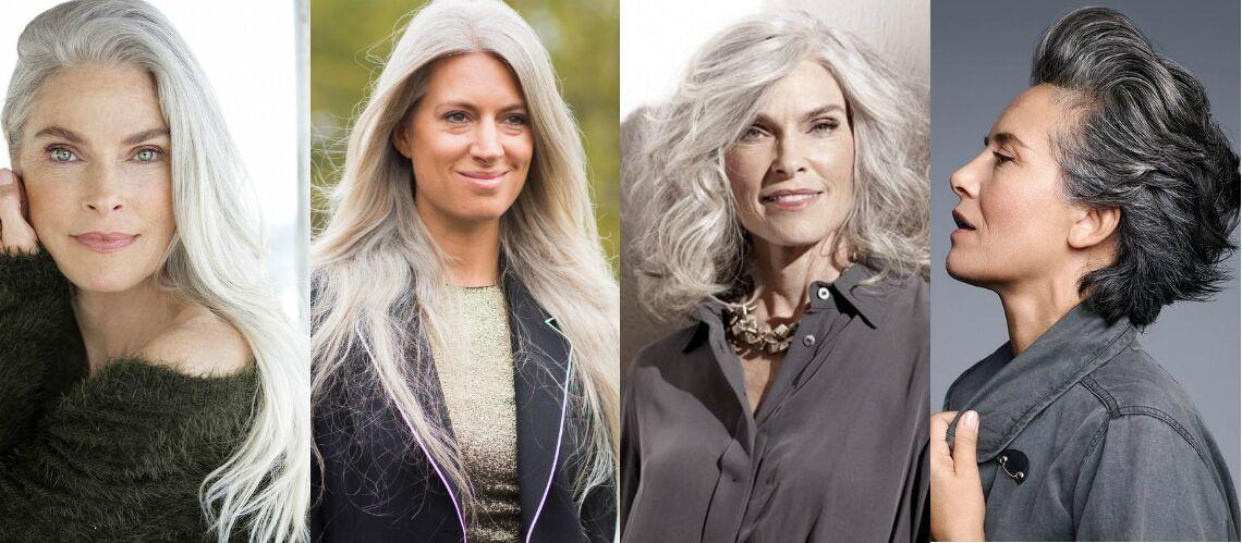 Coupe pour cheveux blancs frises coiffures la mode de for Coupe avec cheveux blancs