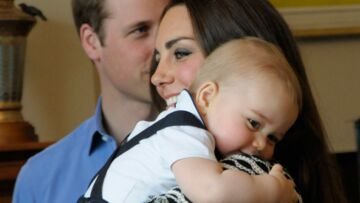 Photos- Le prince George rayonne a Welling­ton