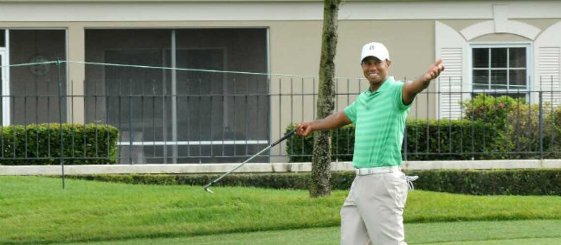 Tiger Woods vole au secours de Lindsey Vonn