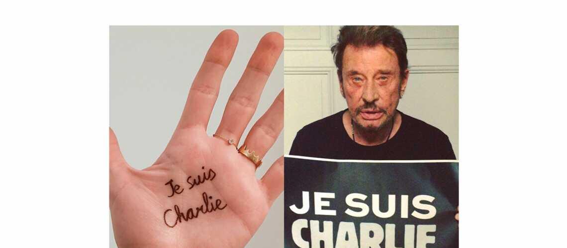 Diane Kruger, Johnny, Madonna: l'émotion des stars pour Charlie
