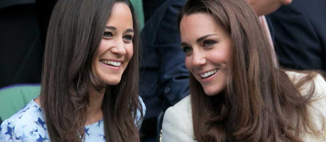 Pippa et Kate Middleton, princesses des courts