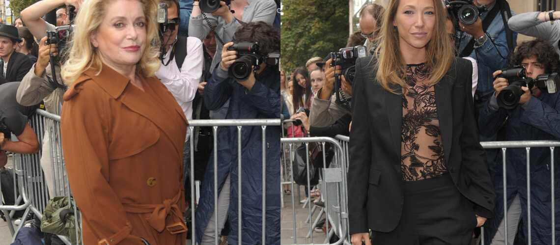 Catherine Deneuve, Laura Smet… de sortie chez Jean-Paul Gaultier