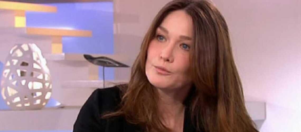 Carla Bruni-Sarkozy: ce qu'elle nous a dit…