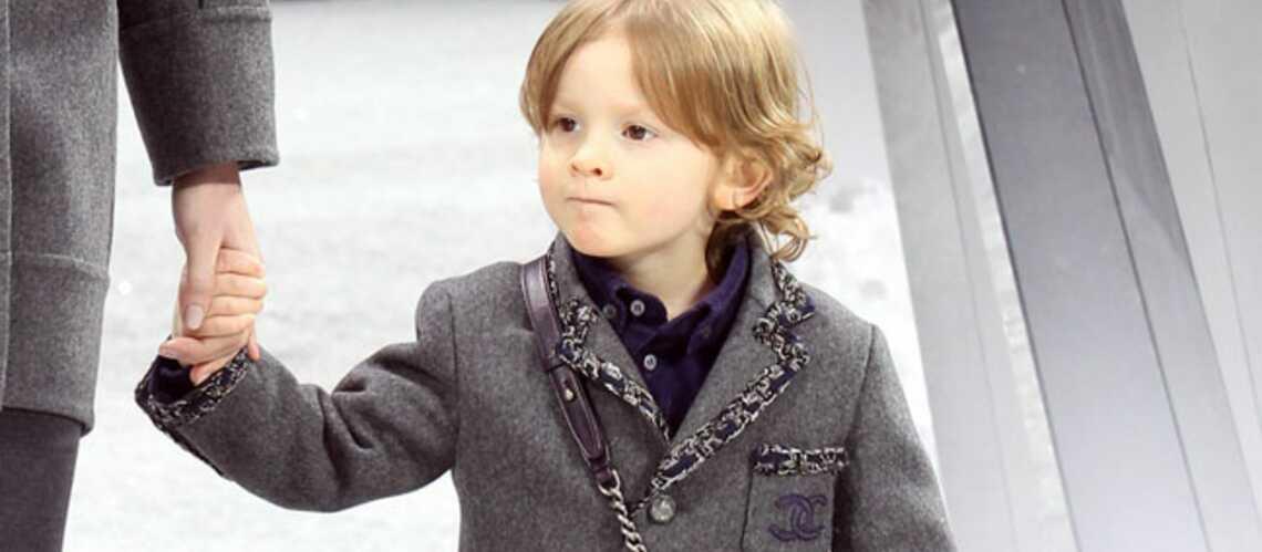 Hudson Kroenig, bébé mannequin pour Chanel