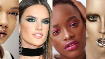 Tendance maquillage: 30 façons d'adopter la tendance métallique